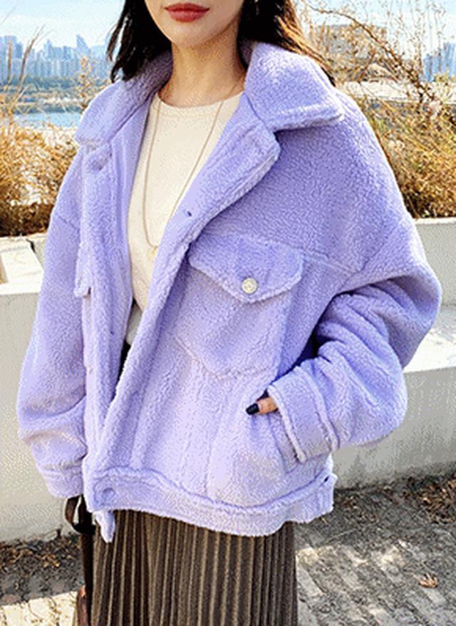 画像: [DHOLIC] ボアショートジャケット・全3色アウター|レディースファッション通販 DHOLICディーホリック [ファストファッション 水着 ワンピース]