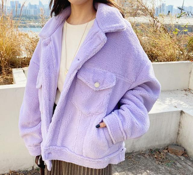 画像: ボアショートジャケット ¥7,414 (税込)
