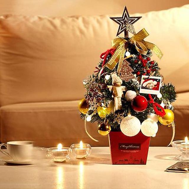 画像: [Qoo10] クリスマスツリー 50cm 卓上 クリス... : ホビー・コスプレ