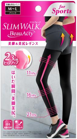 画像3: 「スリムウォーク Beau-Acty」シリーズで年明け緩んだ体を効率よくケア!