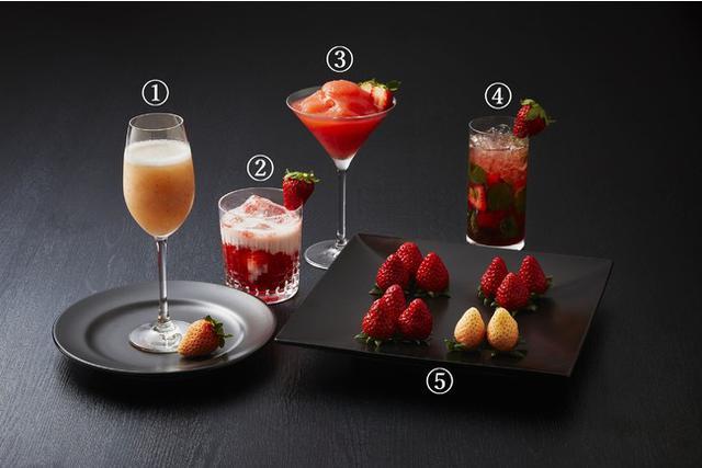 画像4: 甘美ないちごをスイーツやカクテルで。季節の美味しさを存分に味わう「ストロベリーカー二バル」
