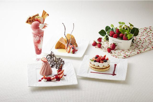 画像2: 甘美ないちごをスイーツやカクテルで。季節の美味しさを存分に味わう「ストロベリーカー二バル」