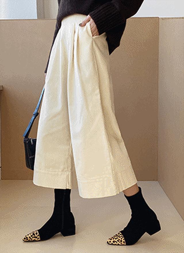 画像: [DHOLIC] コーデュロイタックワイドパンツ・全4色パンツ・ジーンズパンツ・ズボン|レディースファッション通販 DHOLICディーホリック [ファストファッション 水着 ワンピース]