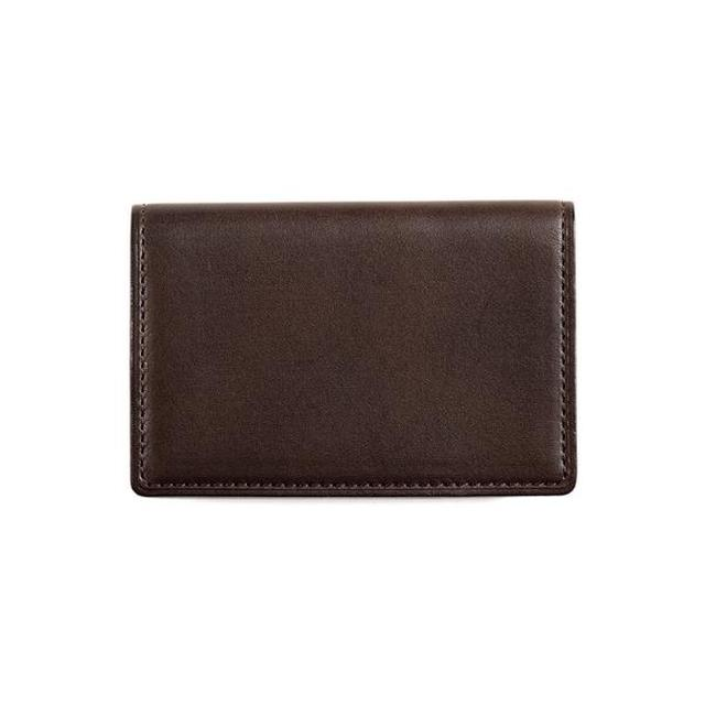 画像: 【限定製作】レザーチョコレート INOMEカードケース / 土屋鞄製造所