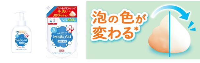 画像1: ひと目で分かるサインで正しい手洗い習慣をサポート!