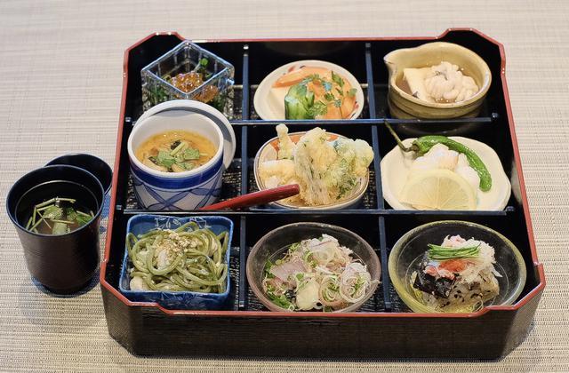 画像: ■ランチ「彩菜〜冬の海鮮弁当」 3,500円(税込)