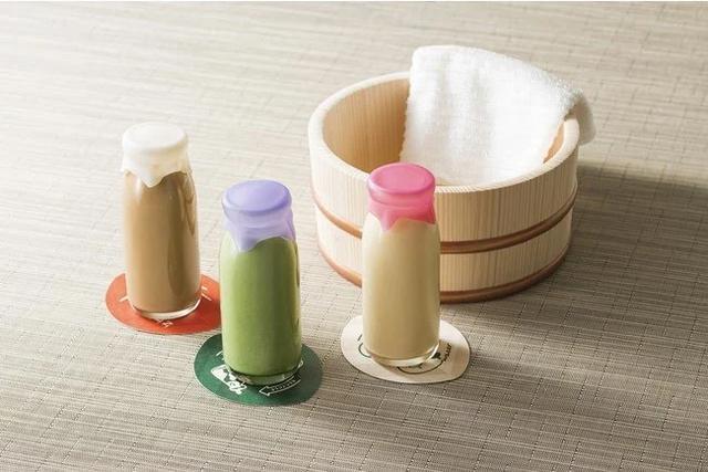 画像: [左より]コーヒーオーレ、豆乳青汁、フルーツオーレ(各300円:税込)