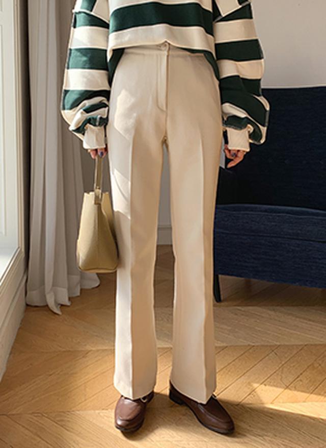 画像: [DHOLIC] 裏起毛スリムスラックス・全3色パンツ・ズボンパンツ・ズボン|レディースファッション通販 DHOLICディーホリック [ファストファッション 水着 ワンピース]