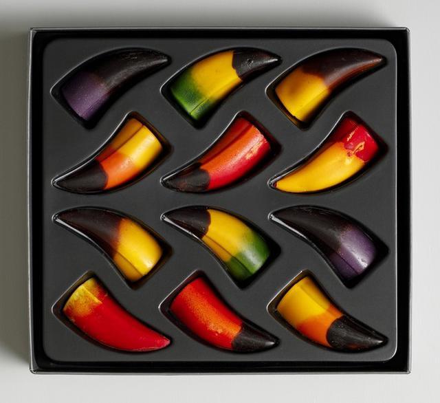 画像: ・上段左から:Cassis(カシス), Yuzu(柚子), Banana(バナナ) ・2段目左から:Passion Fruits(パッションフルーツ), Blood Orange(ブラッドオレンジ), Raspberry(ラズベリー)