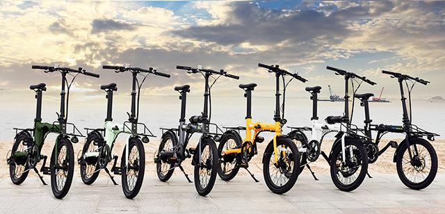 画像1: すべての機能が揃ってる!あなたの生活をサポートする折りたたみ電動アシスト自転車「naicisports power 2.0」誕生