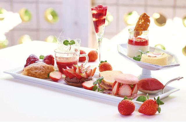画像1: 人気のナポレオンパイや、苺を9種の異なるスタイルで楽しむ新メニュー