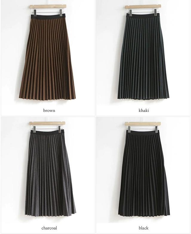 画像3: ウールプリーツロングスカート