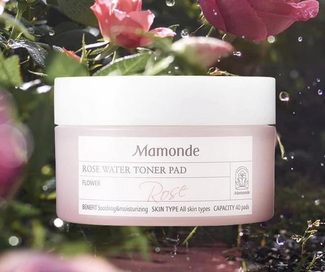 画像1: 【Mamond】ROSE WATER TONER PAD(ローズウォータートナーパッド)