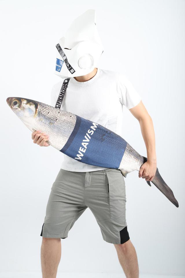 画像: WEAVISM Milkfish Bag (Large) - Grey - WEAVISM    Pinkoi