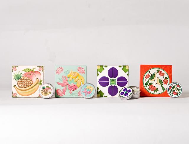 画像: 練り香水 ギフトボックス 4個セット/Perfume Tiles(台湾)