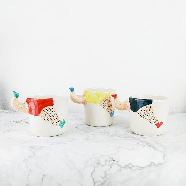 画像: Porcelain Cup   Hair Cup - furfurdesign  - グラス・コップ   Pinkoi
