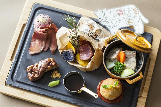 画像2: ワンプレートで世界一周!?ホテルで楽しむ美食巡りの旅