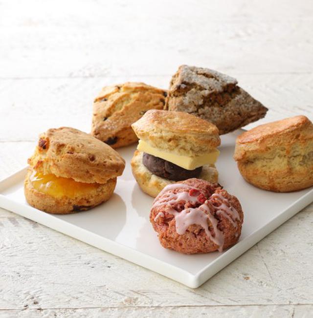 画像: オンラインストアでは、6種の味が楽しめる「スプリングスコーンセット」を先行発売!