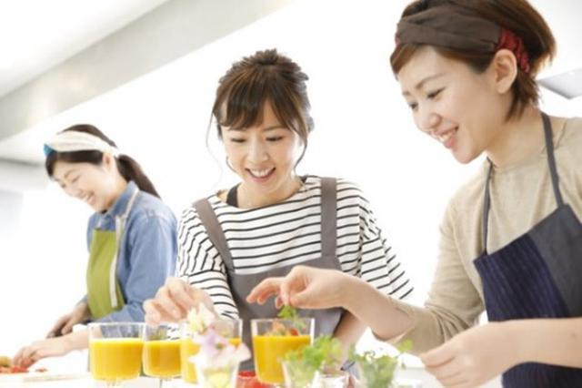 画像: 料理教室