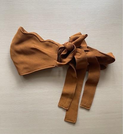 画像2: ファッションと機能を兼ね備えた万能マスク「想いを紡ぐリボンマスク」