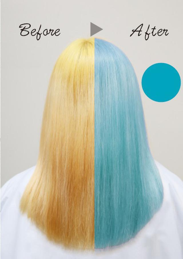 画像: 〈ブルーシャンプー〉 色落ちした髪もオシャレなブルーに