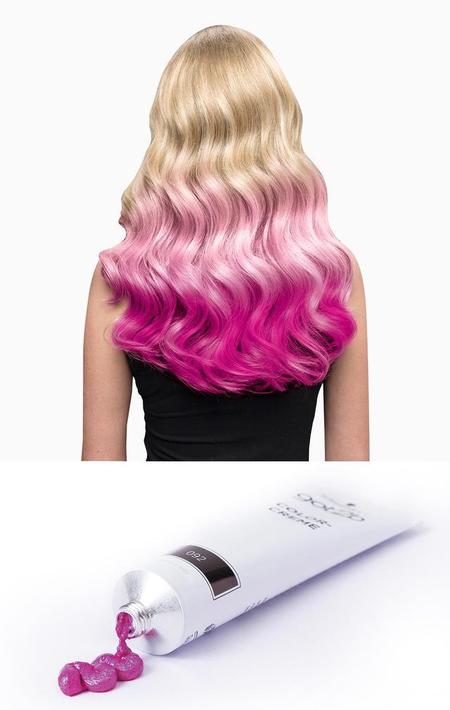 画像: 〈フラミンゴピンク〉 フラミンゴのような鮮やかなピンク