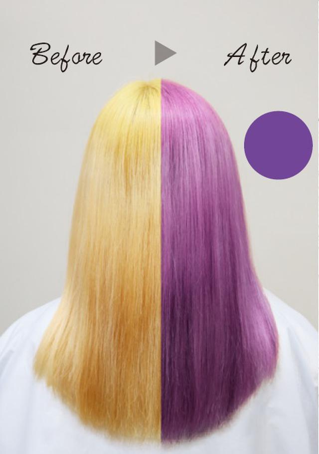 画像: 〈パープルシャンプー〉 色落ちした髪もオトナなパープルに