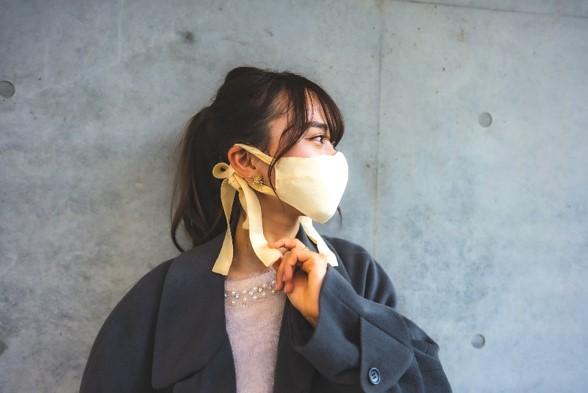 画像5: ファッションと機能を兼ね備えた万能マスク「想いを紡ぐリボンマスク」
