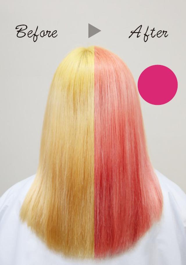 画像: 〈ピンクシャンプー〉 色落ちした髪をスイートなピンクに