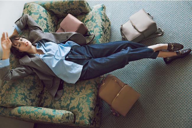画像1: 通勤コーデにハマるかちっとフォルム!「ジュエルナローズ」からPC対応ビジネスリュック新登場