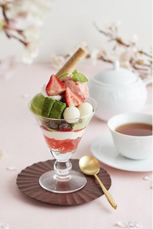 画像1: Afternoon Tea TEAROOM 抹茶のパフェやフルーツワッフル