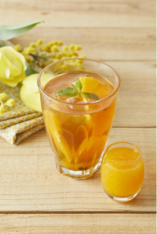 画像2: Afternoon Tea TEAROOM 桃、パッションフルーツを使ったさわやかな春のアイスティー