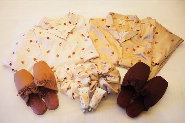 画像: 大人気いちご柄パジャマ付!いちご尽くしの特典!