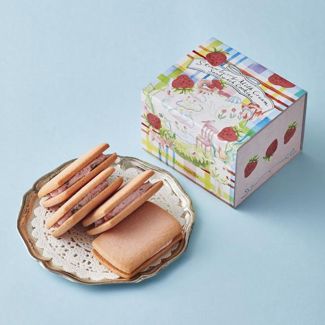 画像2: 春限定!いちごの焼き菓子