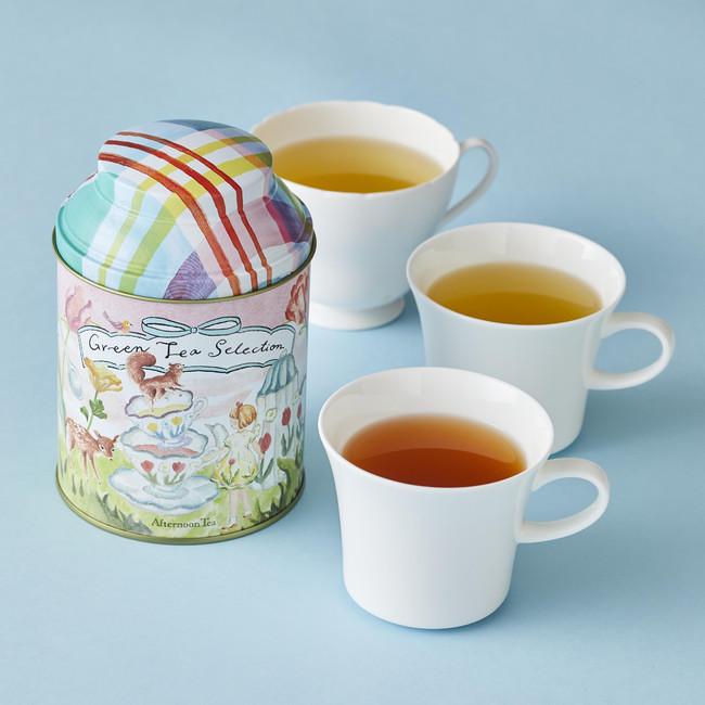 画像3: 桜の花びらと桃色のルバーブチップをちりばめたお茶など春限定のお茶