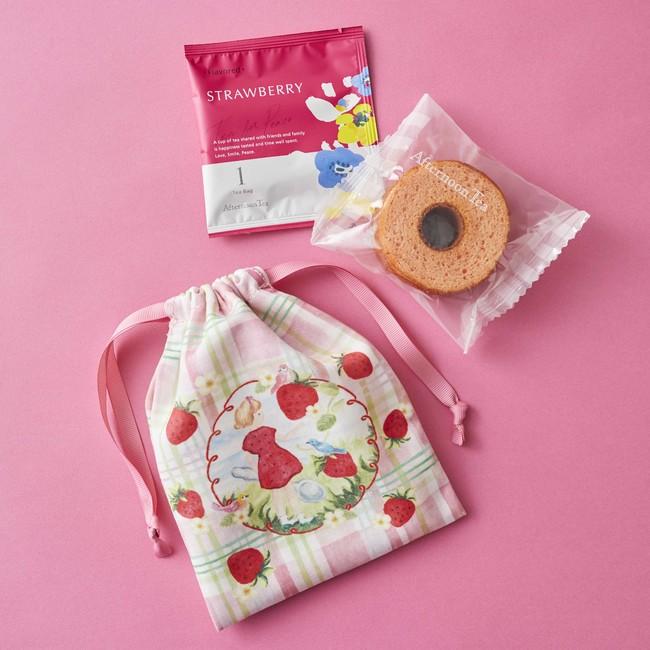 画像4: 春限定!いちごの焼き菓子
