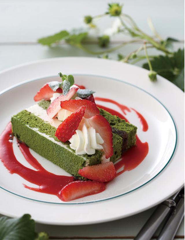 画像2: 【キハチ カフェ】新食感マカロンなど、春の香りに包まれる新作スイーツが続々登場!