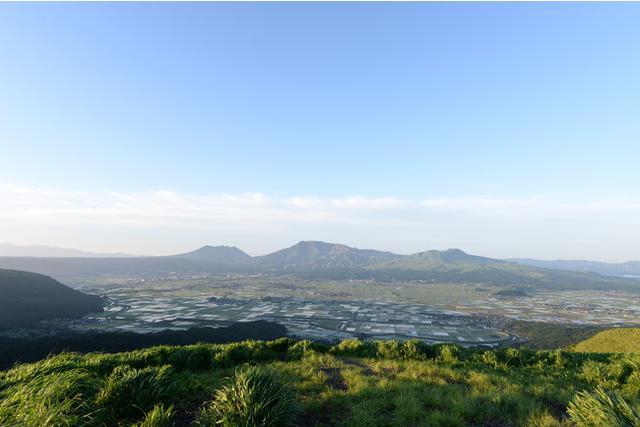 画像: 大観峰からの阿蘇五岳