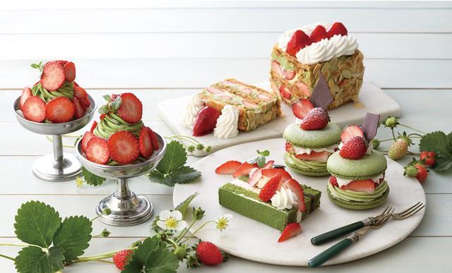 画像1: 【キハチ カフェ】新食感マカロンなど、春の香りに包まれる新作スイーツが続々登場!