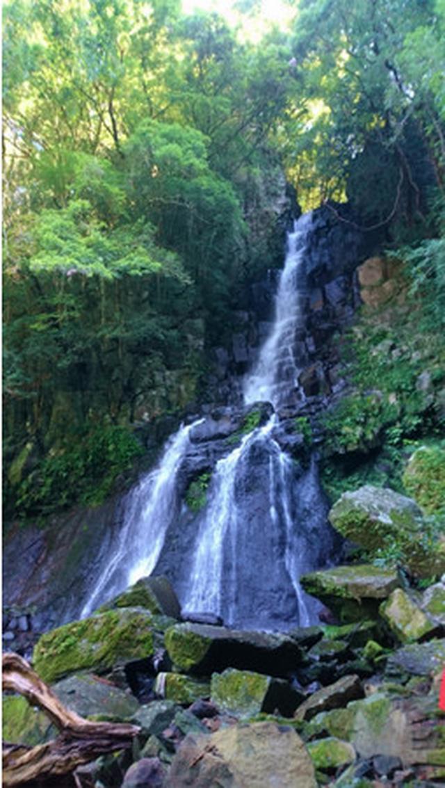 画像: 湯の鶴温泉周辺のおすすめスポット「湯出七滝」
