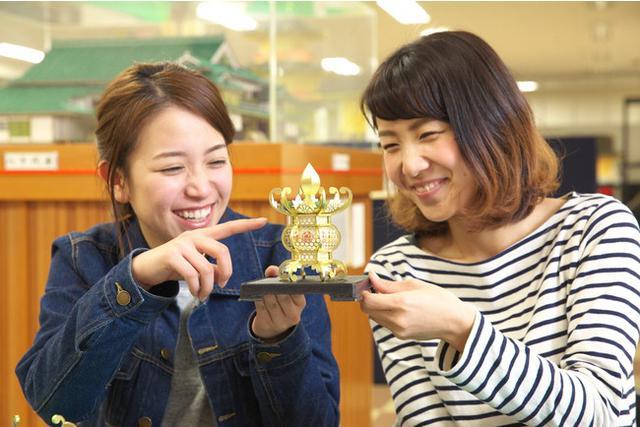 画像: ミニ灯籠作り(写真提供:山鹿市)