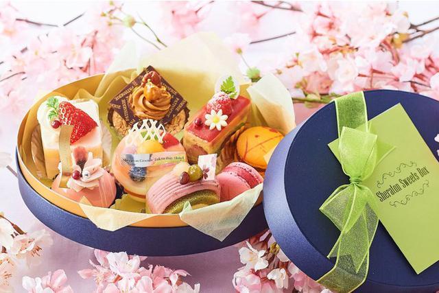 """画像6: 3月限定!""""ハッピースプリング スイーツ&ベーカリー"""" 春の訪れを感じさせる桜や苺を使ったスイーツで、お花見気分をお届け~"""