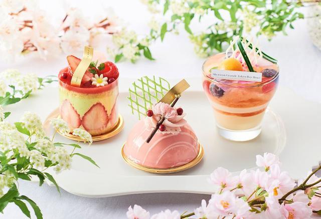 """画像1: 3月限定!""""ハッピースプリング スイーツ&ベーカリー"""" 春の訪れを感じさせる桜や苺を使ったスイーツで、お花見気分をお届け~"""