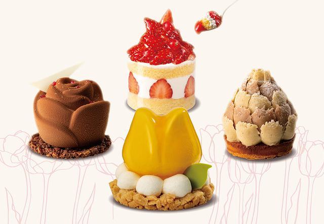 画像2: 記念すべき開店2周年の春に、チューリップ&ローズな新作ケーキ発表!