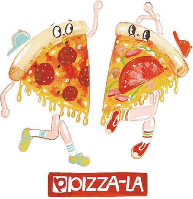 画像1: ピザーラのピザがTシャツに!!