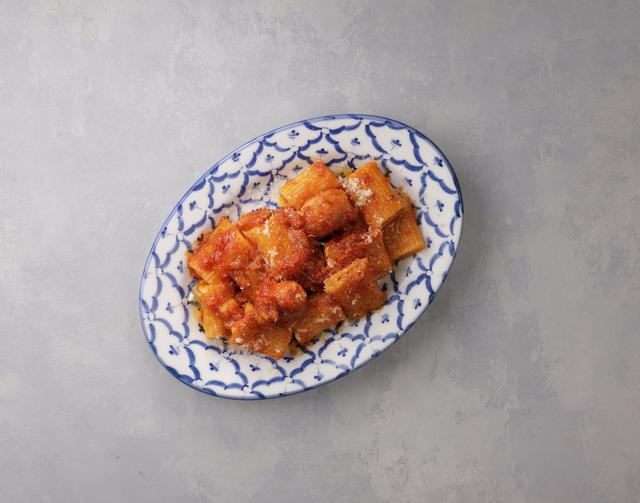 画像: リガトーニ〜粗挽きソーセージトマトソース〜 540円(税込)