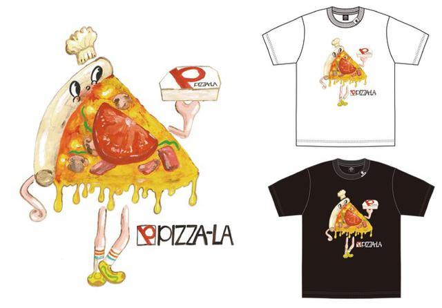 画像1: ジーユーで販売されるピザーラのコラボTシャツも要チェック