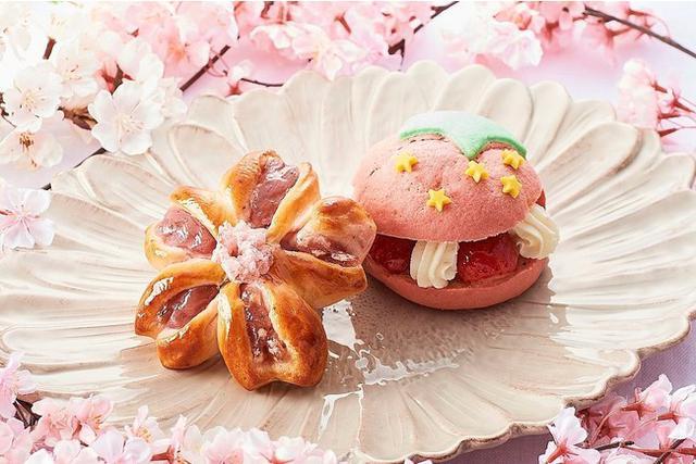 """画像5: 3月限定!""""ハッピースプリング スイーツ&ベーカリー"""" 春の訪れを感じさせる桜や苺を使ったスイーツで、お花見気分をお届け~"""