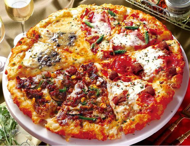 画像2: 春を美味しく楽しく過ごすのにぴったりの新作クォーターピザ!