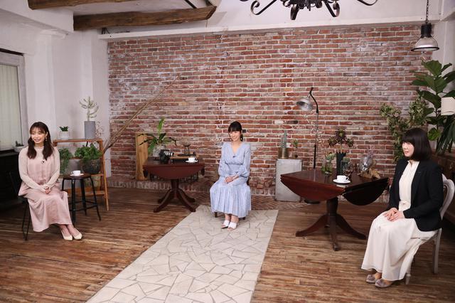 画像: 〈左より〉フリーアナウンサー宇垣美里さん、美容家岡本静香さん、資生堂アクアレーベルグループ須貝展子さん